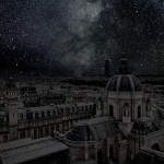 Thierry-Cohen-Paris-rooftops-with-lights-out-darkened-skies