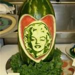 sculpture sur pastèque1